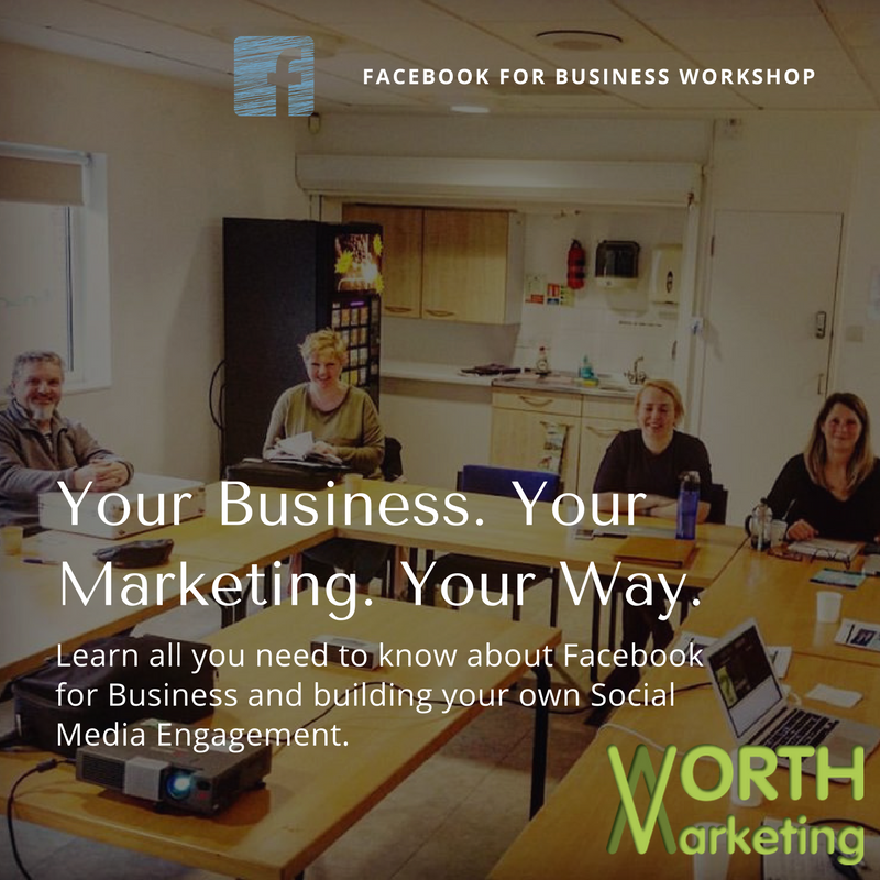 Worth Marketing Strategic Social Media Facebook for Business Workshop (Newbury, Berkshire)